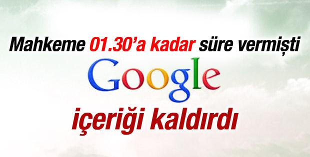 Google mahkemenin uyarısıyla o görüntüleri kaldırdı