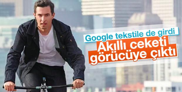 Google akıllı ceketini görücüye çıkardı
