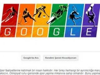 Google'dan Kış Olimpiyatları doodle'ı