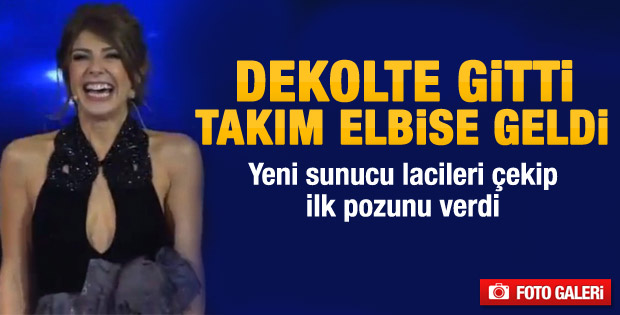 Veliaht'ın yeni sunucusu Murat Başoğlu'ndan ilk kareler