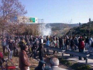 Bin 500 kişilik HDP'li grup Urla'ya girmeye çalıştı