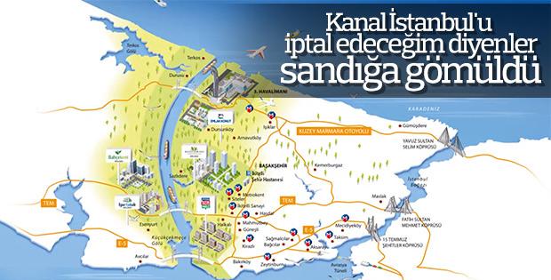 Kanal İstanbul projesinin önünde hiçbir engel kalmadı