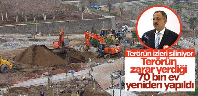 Özhaseki: Doğu'da 70 bin ev zarar gördü
