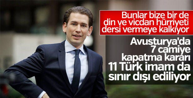 Avusturya'dan skandal karar