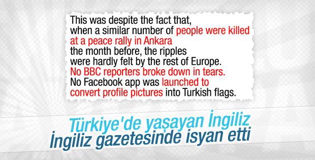 Ankara'da yaşayan İngiliz Guardian'da isyan etti
