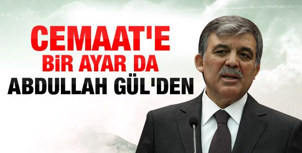 Abdullah Gül: Hizmet için huzur gerekli
