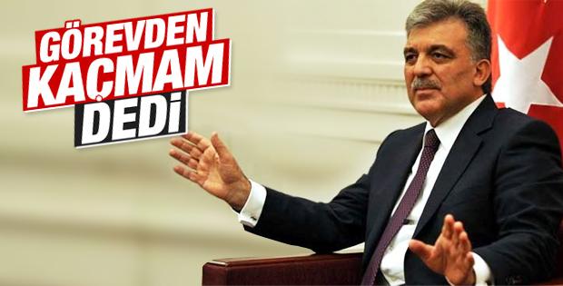 Abdullah Gül'den siyasete dönüş sinyali
