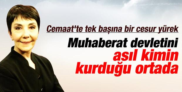 Gülay Göktürk: Muhaberat devleti mi demiştiniz?