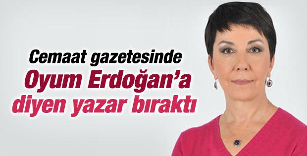 Gülay Göktürk Bugün gazetesine veda etti