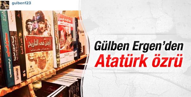 Gülben Ergen'den Atatürk özrü