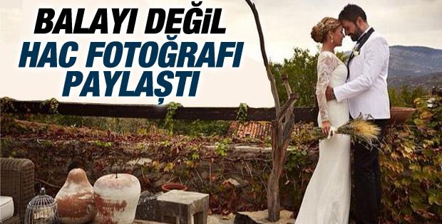 Gülben Ergen Hac'dan ilk fotoğrafını paylaştı