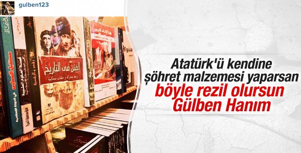 Gülben Ergen'in Atatürk paylaşımı tepki çekti