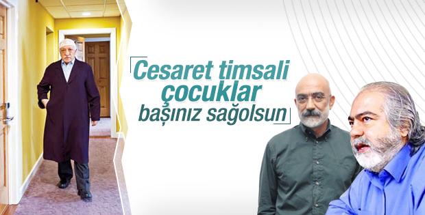 Gülen'den Altan kardeşlere 'cesaret timsali' benzetmesi