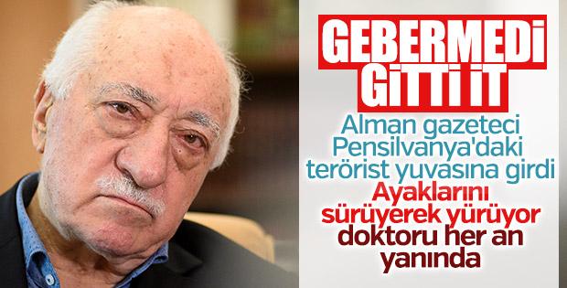 Fetullah Gülen'in bir ayağı çukurda
