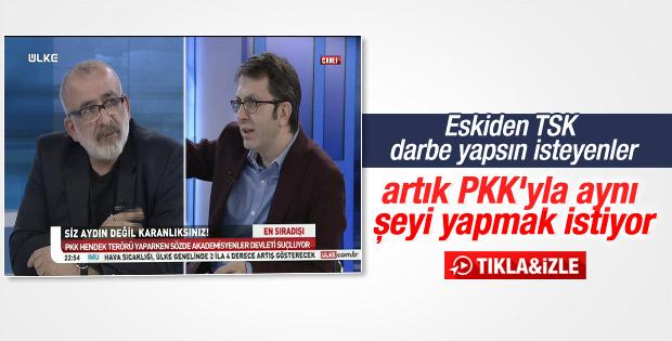 Turgay Güler: TSK darbe yapsın isteyenler şimdi PKK'lı oldu