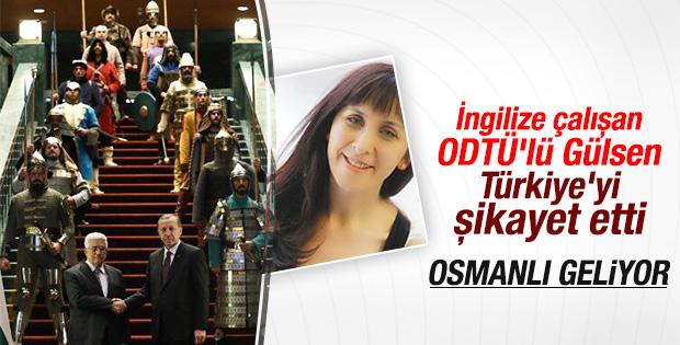 Reuters muhabiri Gülsen Solaker'in Osmanlı korkusu