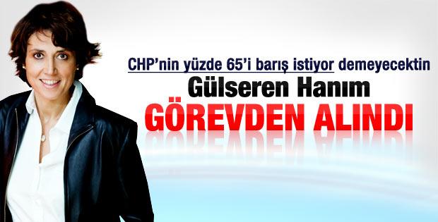 CHP'li Gülseren Onanç istifa etti