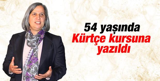 Gültan Kışanak: Kürtçe öğreniyorum