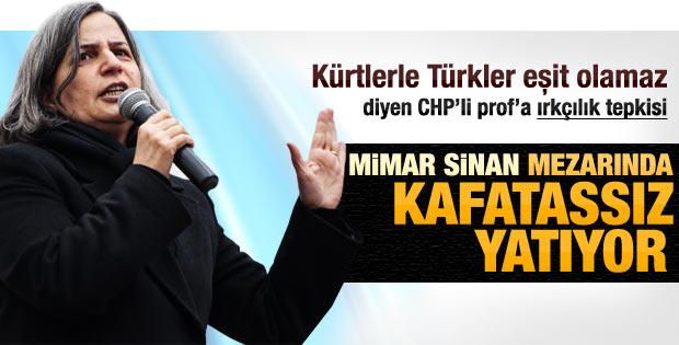 Gültan Kışanak: Mimar Sinan kafatassız yatıyor