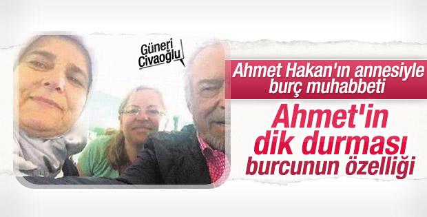 Güneri Civaoğlu Ahmet Hakan'ın evini ziyaret etti