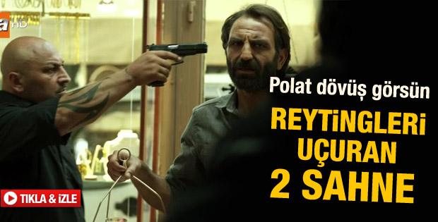 Gürkan Uygun'un yeni dizisi Kaçak'ta iki müthiş sahne