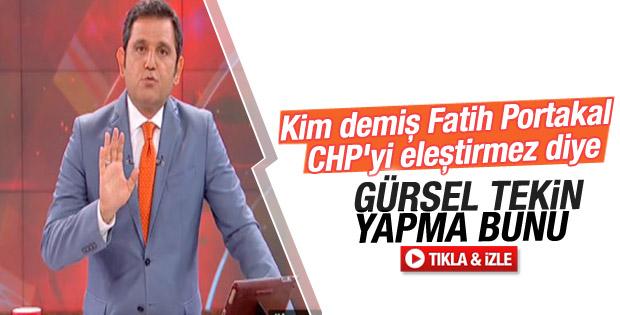 Fatih Portakal: Bu bilgiler ispata muhtaç