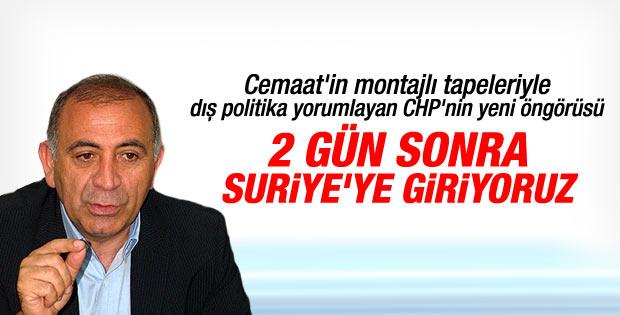 CHP'li Gürsel Tekin'den Türkiye Suriye'ye girecek iddiası
