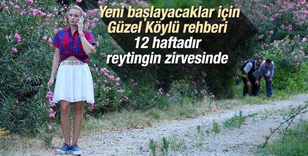 12 haftanın reyting lideri Güzel Köylü