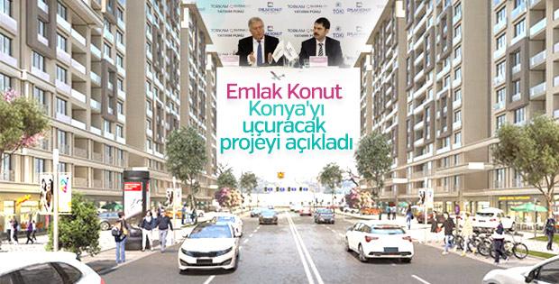 Emlak Konut'tan 150 milyon liralık Konya fonu