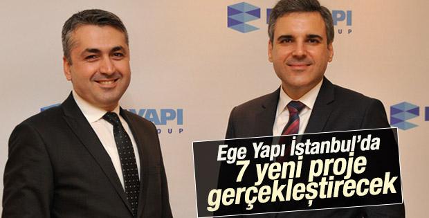 Ege Yapı İstanbul'da 7 yeni proje gerçekleştirecek