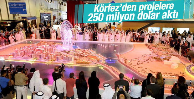 Dubai'de bir günde 250 milyon dolarlık satış