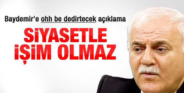 Nihat Hatipoğlu adaylık iddialarına noktayı koydu
