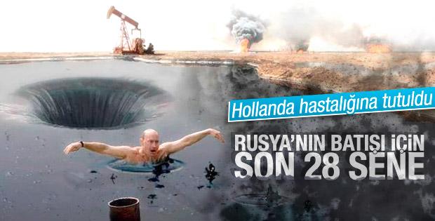 Rusya'nın petrol rezervleri 2044'te tükenebilir