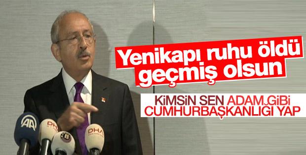Kılıçdaroğlu yabancı basın ile buluştu