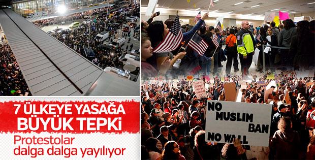 ABD'deki vize protestosu büyüyor