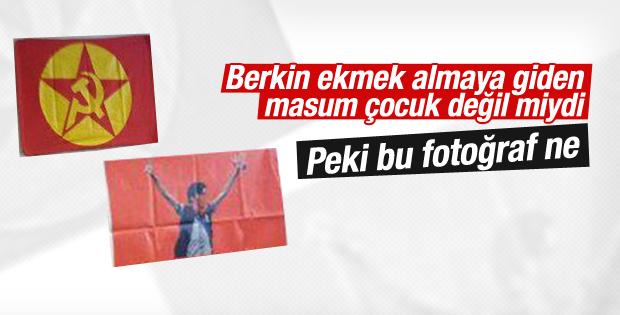 Eylemciler Berkin Elvan fotoğrafıyla propaganda yaptı
