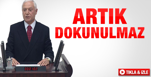 Mehmet Haberal Meclis'te yemin etti - izle