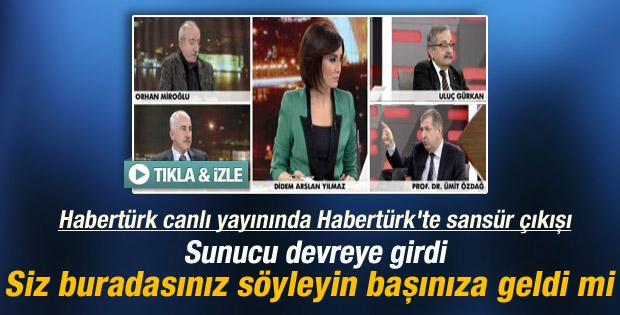 Habertürk'e sansür iddiaları Habertürk'te tartışıldı - izle