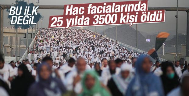 Hac facialarında 25 yılda 3500 kişi öldü