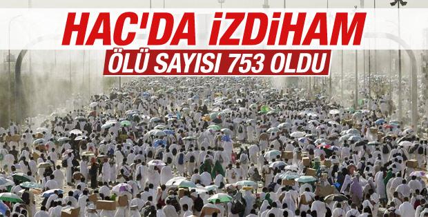 Hacı adayları arasında izdiham: 753 ölü