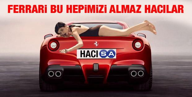 Hacı Sabancı Ferrari'sine doluşanları kovdu - Foto