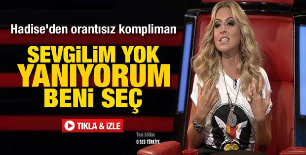 Hadise O Ses Türkiye'de coştu - izle