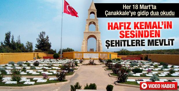 Hafız Kemal'in sesinden Çanakkale şehitlerine mevlit