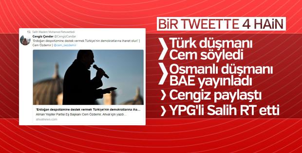Türkiye düşmanları Erdoğan karşıtı haberde buluştu