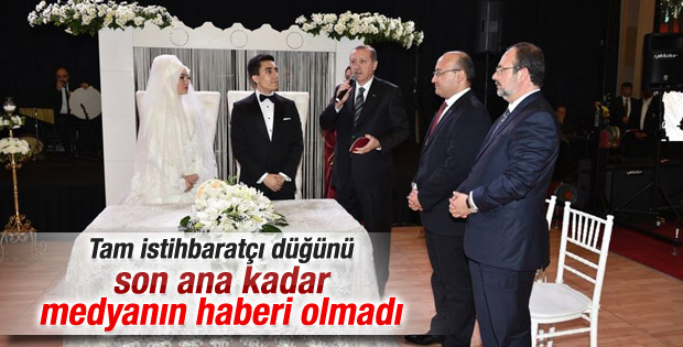 Hakan Fidan'ın oğlu Ankara'da gizli bir törenle evlendi
