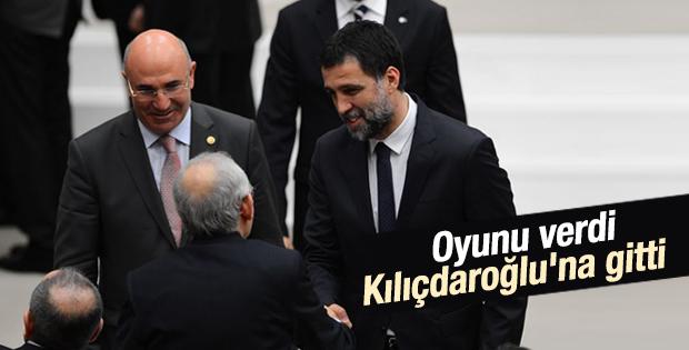 Hakan Şükür soluğu Kılıçdaroğlu'nun yanında aldı