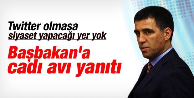Hakan Şükür'den Başbakan'a cadı avı yanıtı
