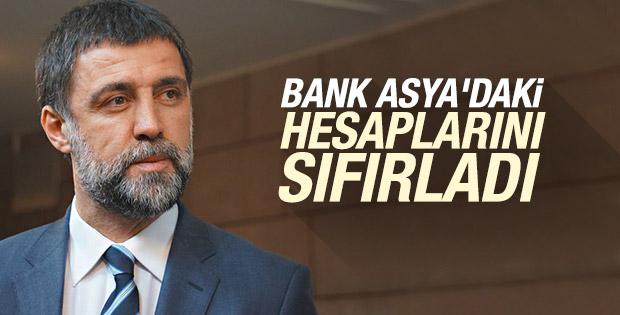 Hakan Şükür Bank Asya'daki hesaplarını boşalttı