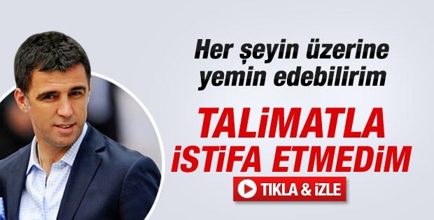 Hakan Şükür'den talimat aldı iddialarına yanıt - Video