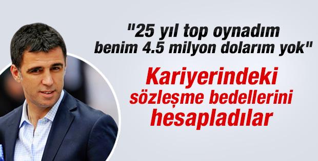 Hakan Şükür'ün futbol kariyerindeki kazancı hesaplandı - izle